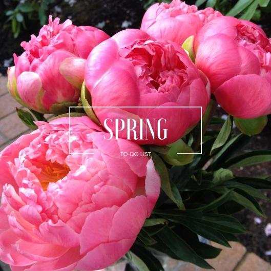 Spring To-Do List