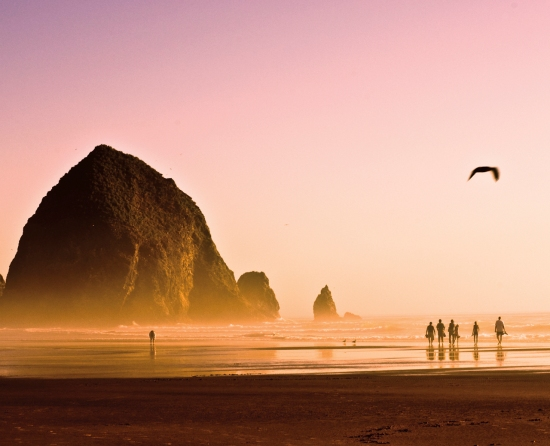 5 Weekend Road Trips Around the Pacific Northwest // Cannon Beach, OR