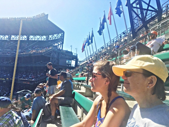 Life Lately // Mariners game