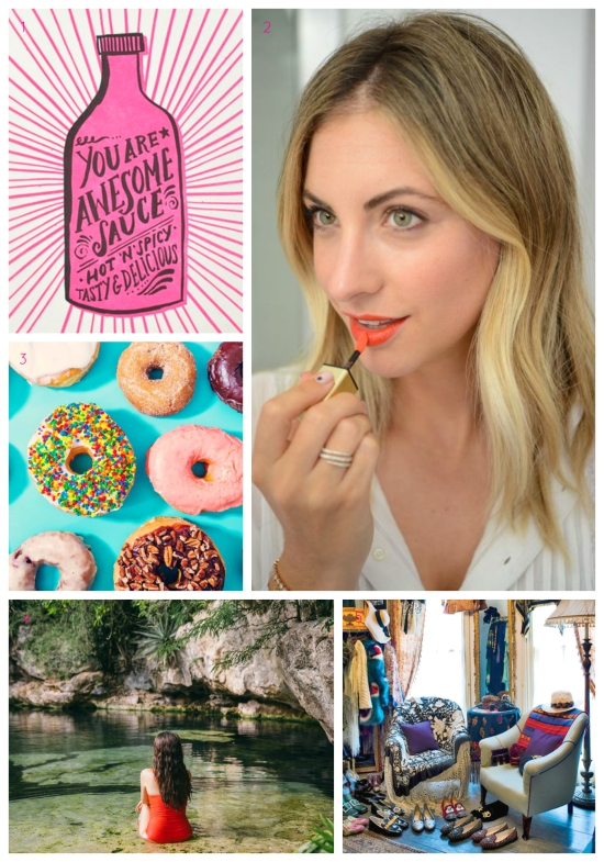 Friday Favorites: Hello Lucky Stationery, Summer Lip Stains, National Donut Day, Tulum, Anti-Konmari